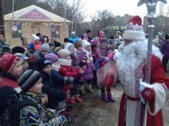 Tieriem_10.JPGВ Новочебоксарской Ельниковской роще открылся Терем Деда Мороза Терем Деда Мороза Новый год 2016