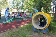 ТуннельЧебоксарская ГЭС подарила особенным малышам спортивную площадку РусГидро