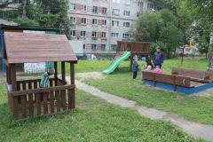 Уголок для малышейЧебоксарская ГЭС оборудовала игровую площадку в социально-реабилитационном центре для несовершеннолетних РусГидро