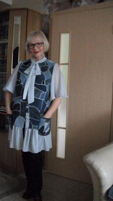Валентина Никишина в одежде собственного производства.Талант раскрылся в самоизоляции Грани в Сети