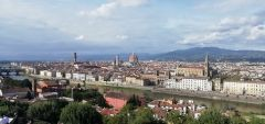 Вид на Флоренцию. Фото автораРимские каникулы Тропой туриста Рим Италия