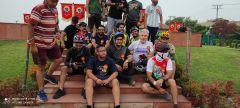 Велосипедисты Джамму на втором старте.Велопробег Независимости Индии. Репортаж с веломероприятия в г. Джамму велопробег