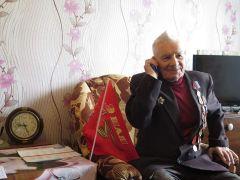 Ветеран говорит с Николаем Маловым.Низкий поклон фронтовикам День Победы 75 лет Победе