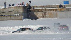 «Волжский трек-2017»:  автогонки на  льду чебоксарского залива Волжский трек автогонки