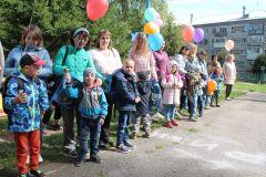 Воспитанники центраЧебоксарская ГЭС помогла первоклассникам собраться в школу РусГидро