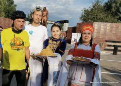 Встречав БуинскЗавершился велопробег на 100 км в честь 100-летия Чувашской автономии  велопробег 100 лет Чувашской автономии