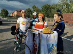 Встреча в Буинске.Завершился велопробег на 100 км в честь 100-летия Чувашской автономии  велопробег 100 лет Чувашской автономии