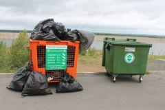 Вторсырье - 80% мусораПочти весь мусор, собранный на акции «оБЕРЕГАй» в Новочебоксарске, отправили во вторичную переработку РусГидро