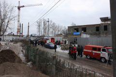 В Чебоксарах обрушилась стена дома. Людей вовремя эвакуировали обрушение МЧС Чувашии