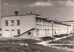 Здание поликлиники в 1970-1980 гг.Своя родная медсанчасть. Медико-санитарная часть № 29 отмечает свое 50-летие МСЧ-29 Юбилей