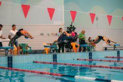 Турнир стартовал с заплыва в бассейне.Плавали, бегали, стреляли Троеборье Пятиборье