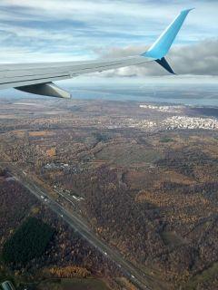 Под крылом самолета — родная Чувашия, Волга и М7.Познать невозможно. Можно только наслаждаться и удивляться Тропой туриста Поехали!