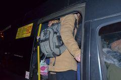 Маршрутка тронется, рюкзак останется...Новочебоксарские маршрутки:  вовремя уедут не все! Транспортные страсти