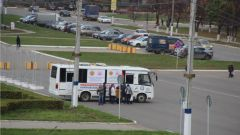 В Новочебоксарске от гриппа прививаются в автобусах грипп вакцина