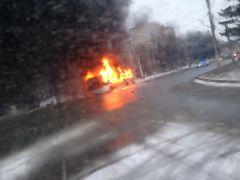 В 14.54 на Московском проспекте, напротив дома № 15 практически полностью сгорел маршрутный автобус № 35. Снег и лед уносят жизни водителей Хватит погибать на дорогах! Полоса безопасности