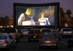 Такие кинотеатры есть во многих городах, в частности, в Зеленодольске.Кино в авто  под открытым небом