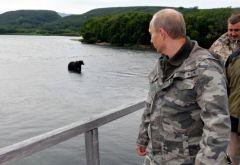 В. Путин на Камчатке. Фото: kremlin.ruВладимир Путин назвал самое красивое место в мире Президент России Владимир Путин