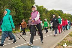 Фестиваль северной ходьбы. Фото: cap.ruВ Чебоксарах прошел фестиваль северной ходьбы скандинавская ходьба
