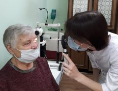 В Чебоксарах в Центральную городскую больницу поступил новый офтальмоскоп