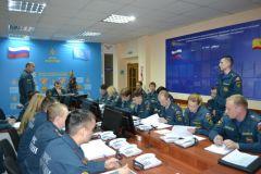 Проверили готовность чувашских спасателей МЧС