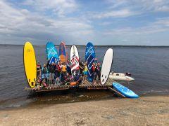 В Чебоксарах прошел «SUPSPOTSerf парад»   Волга