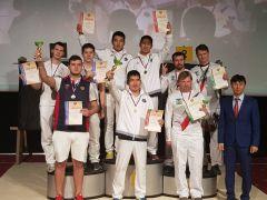 Мужская сборная Чувашии по стрельбе из блочного лука стала серебряным призёром чемпионата России в командном турнире