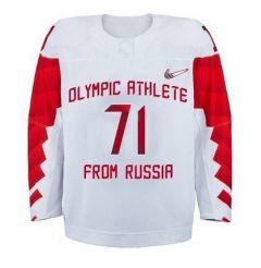 Форма РФФорма олимпийской сборной России по хоккею утверждена МОК (фото) Олимпийские игры-2018