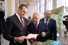 Михаил Игнатьев принял участие в торжественном мероприятии, посвященном Дню российской печати и Дню чувашской печати