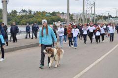 Фото cap.ruВместе с Чувашией шагает вся страна Всероссийский день ходьбы
