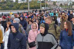 В Чебоксарах во Всероссийском дне ходьбы участвовали более 2000 горожан. Вместе с Чувашией шагает вся страна Всероссийский день ходьбы