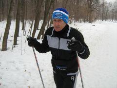 1500 км пробегает на лыжах за сезон Владимир Дюбин в свои 70 лет. Фото автораЛучше в рощу,  чем в аптеку! Дневник долголетия