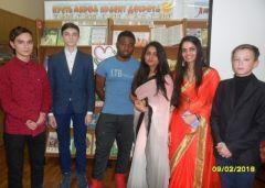 В Детско-юношеской библиотеке состоялась встреча новочебоксарских учащихся с иностранными студентами