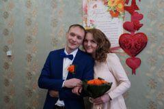 Новочебоксарск: зарегистрирована 100 пара новобрачных ЗАГС муж и жена