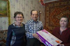 Супружеская пара Мухониных отметила 60 лет семейной жизни Юбилей