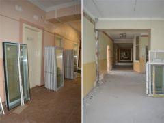 В хирургическом отделении Новочебоксарской горбольницы ремонт идет полным ходом