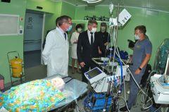 В Республиканской детской клинической больнице планируют возвести вертолетную площадку для санавиации