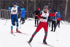 «Рождественская гонка» определила сильнейших лыжников лыжи