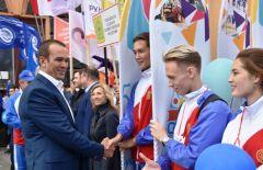 dsc_3170.jpgВ Чебоксарах прошел Парад российского студенчества (фото) Всемирный фестиваль молодёжи и студентов 2017