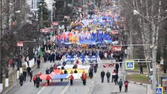 В Чувашии в праздничных первомайских шествиях приняли участие порядка 44 тысяч человек