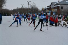 """В долгий путь на 50 км. Фото с сайта Минспорта ЧРСезон завершили  марафоном """"Весенняя капель"""" марафон лыжи"""