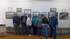 В Порецкой картинной галерее открылась выставка живописи «Поэзия русского пейзажа»