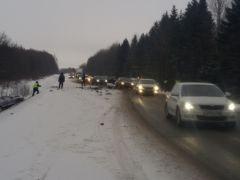 В Моргаушском районе в ДТП пострадали пять человек