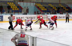 Фото автора«Сокол» сражался, но не смог одолеть «Славутич» ХК Сокол