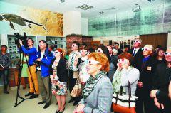Презентация экспозиции в 3D. Фото Валентина НИКОЛАЕВАОт зарождения жизни  до современности События недели