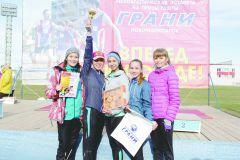 Команда Чебоксарского техникума строительства и городского хозяйстваСпортивный дух в каждом забеге юбилейной XXV легкоатлетическая эстафета на призы газеты ГРАНИ