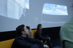 В музее можно посмотреть звездное небо и вместе с экскурсоводом узнать много нового и интересного о космосе.  До звезд рукой подать! Музей космонавтики 100 символов Чувашии