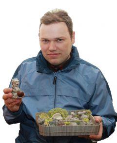 Игорь КузьминыхГипсовая фигурка  как способ познать человека миниатюрные скульптуры