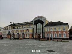"""Так выглядит главное здание """"именинника"""". Фото cheb.ruХранить вечно! Национальный музей Чувашии отмечает 100-летний юбилей национальный музей Чувашии"""