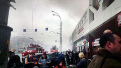 При пожаре в Кемерово погибли дети, приехавшие отметить начало каникул пожар Кемерово Дети