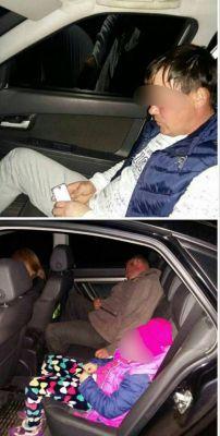 Этот водитель из Канашского района, будучи лишенным прав, управлял авто в состоянии опьянения, не выполнил требования об остановке. Не пристегнулся сам ремнем безопасности и детей вез без кресла и удерживающих устройств. Фото ГИБДД ЧувашииКаждое восьмое ДТП — с участием детей ДТП дети на дороге детский дорожно-транспортный травматизм